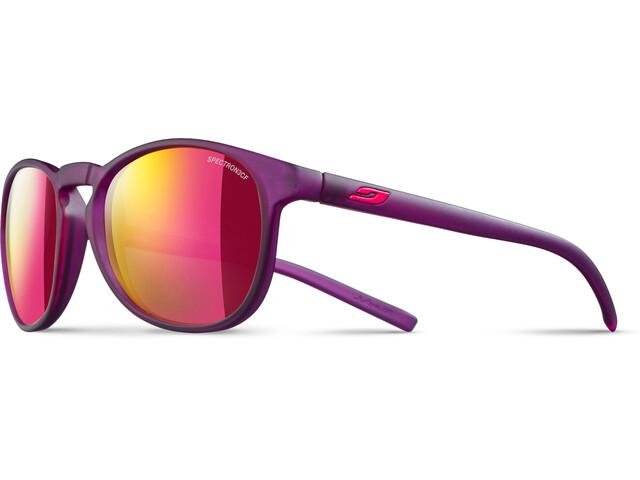 Julbo Fame Spectron 3CF Sonnenbrille 10-15Y Kinder matt translucent purple-multilayer pink